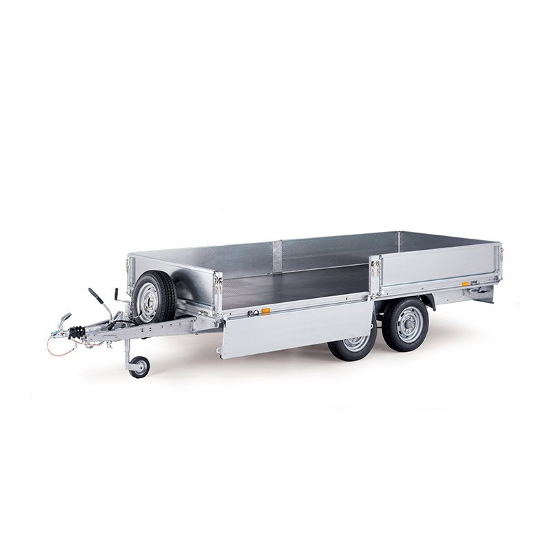 Ifor Williams EL142-3015 Eurolight Ladtrailer