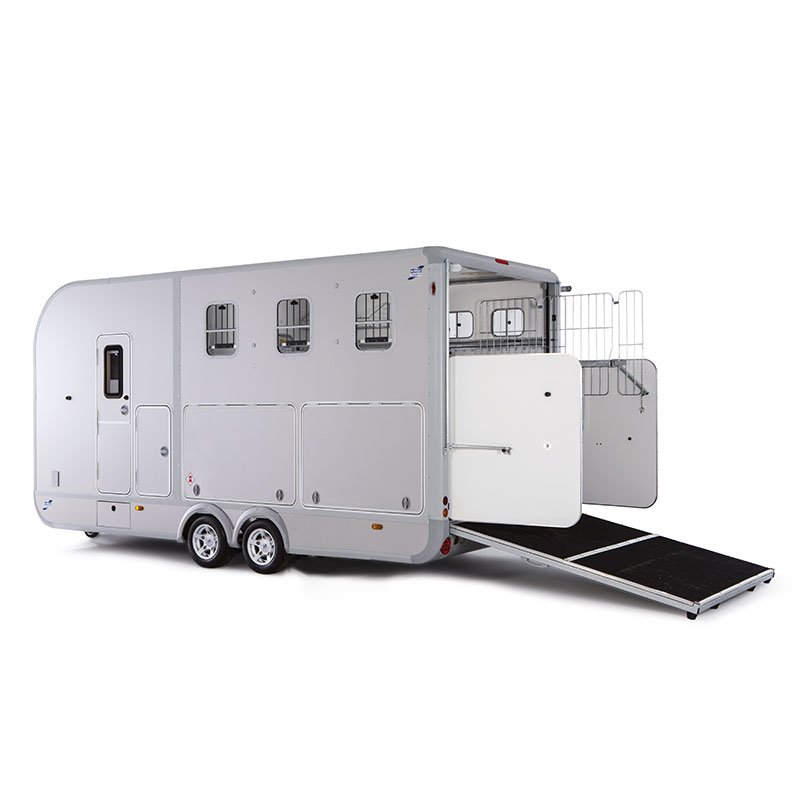 Ifor Williams Eventa L M/sidelocker Hestetrailer