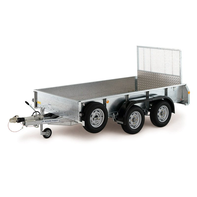 Ifor Williams GD106 Maskintrailer