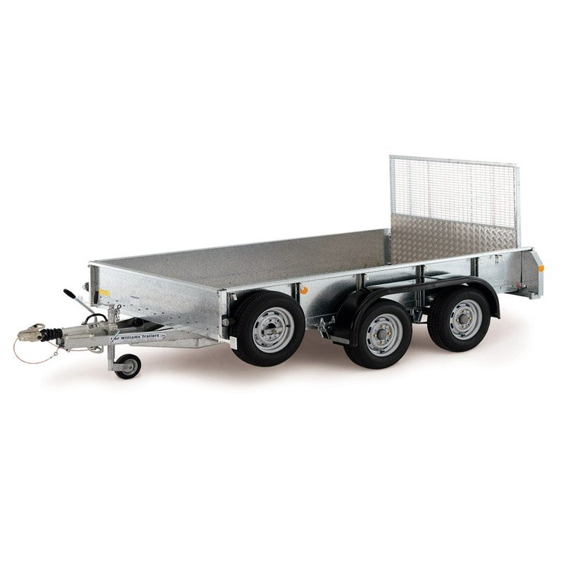 Ifor Williams GD126 Maskintrailer