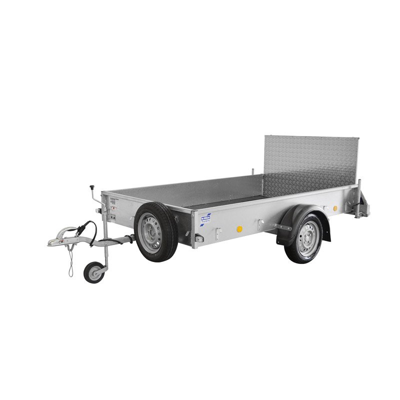 Ifor Williams P8B Ladtrailer