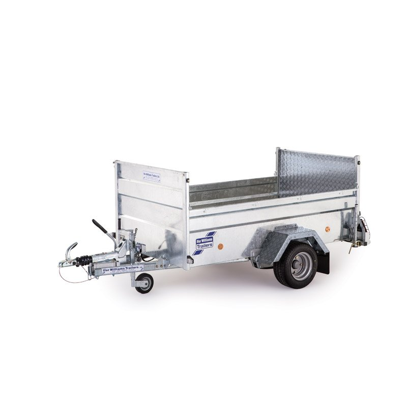Ifor Williams Q6B On-Road Ladtrailer