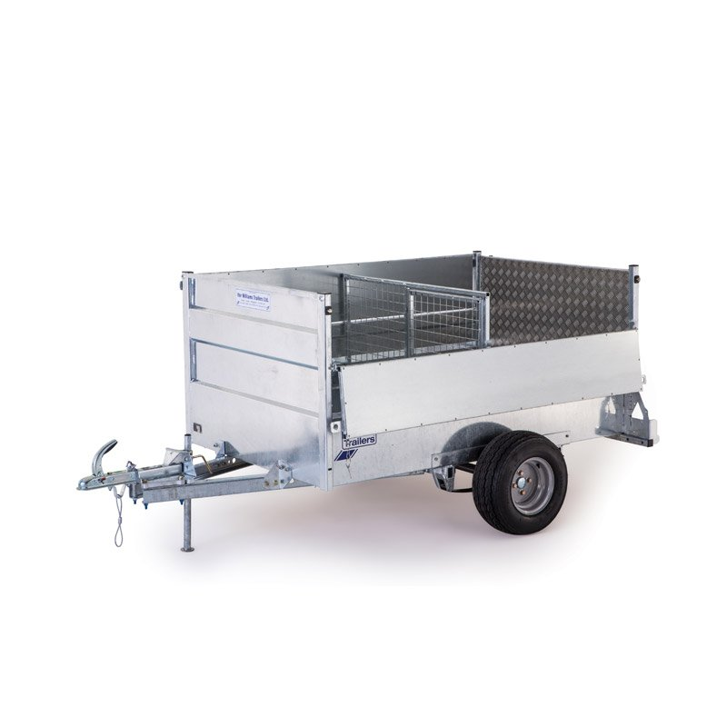 Ifor Williams Q7E Off-Road Ladtrailer