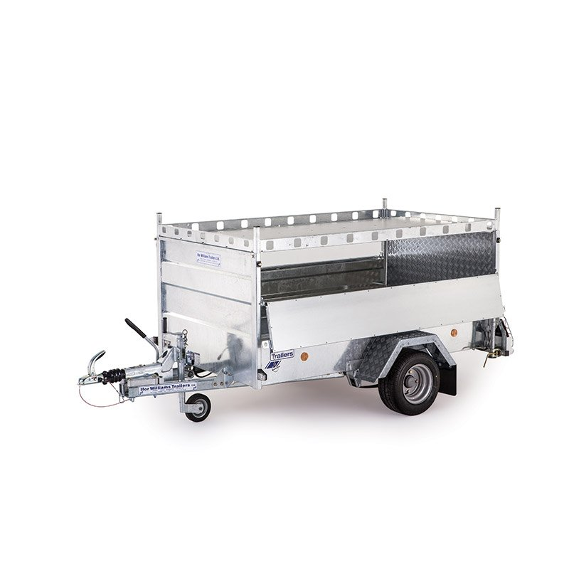 Ifor Williams Q8B On-Road Ladtrailer