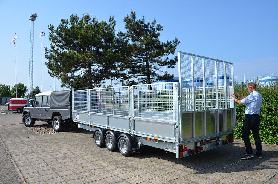 Ladtrailer (over 1.000 kg)